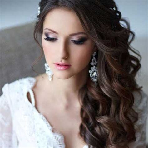wedding hairstyles long brunette 25 unique wedding hairstyles long hairstyles 2016 2017