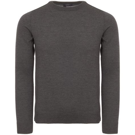 Jumper Winner Grey farah vintage duddon crew neck grey jumper f9gf5051
