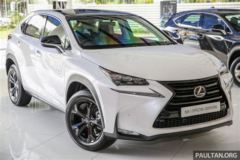 lexus nx malaysia lexus nx 200t range updated for my2017 special edition