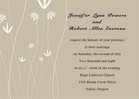 Cheap Simple Wedding Invitations Online     Part 6