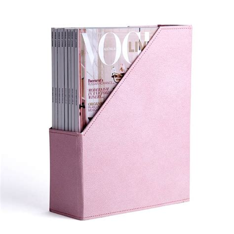 we design magazine holder pink magazine holder and desk tidy by home address