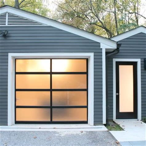 Frosted Garage Door by Discover And Save Creative Ideas
