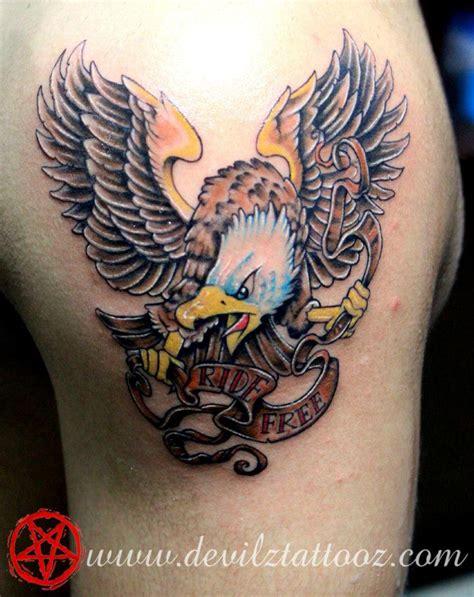 new school eagle tattoo new school eagle tattoo
