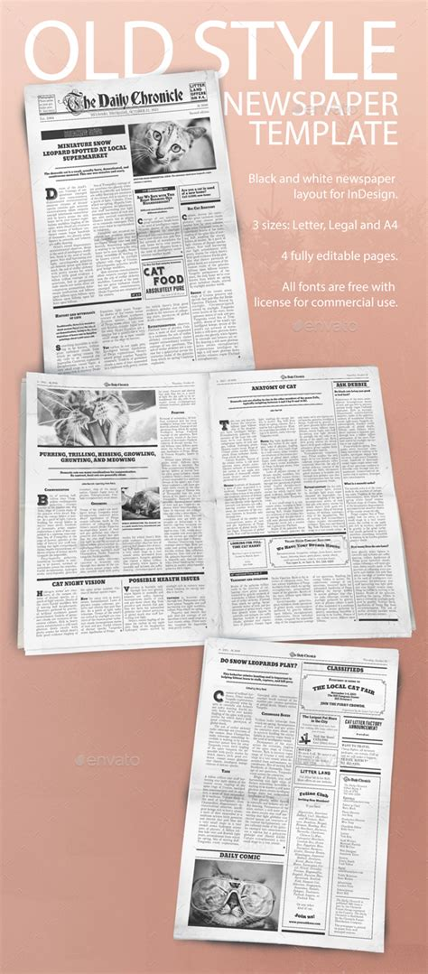 adobe indesign newspaper templates free adobe indesign newspaper templates free gallery