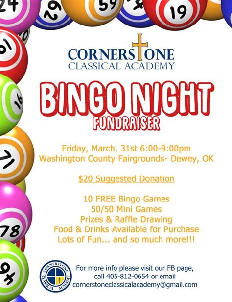cca bingo night fundraiser bartlesville chamber of