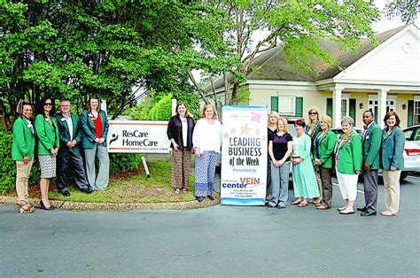 rescare named chamber s leading business local news
