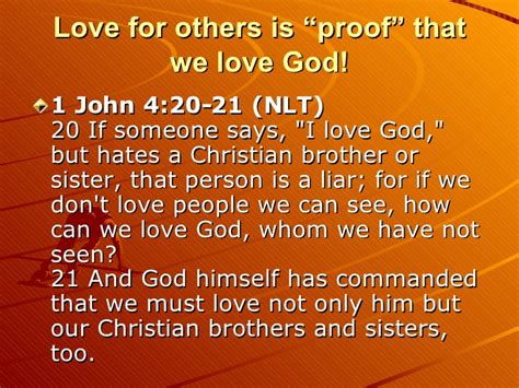 Quot Don T Have Love Quot Official Christian Music Video | love one another 2 8 10 2008