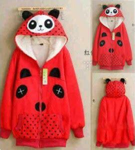 Sale Baju Anak Jaket Anak Polka Kode Sp91 Jaket Panda Jaket Remaja Cewek Gambar Kartun Lucu