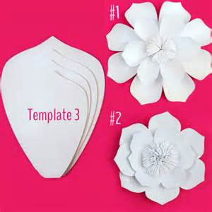 Diy Flower Template paper flower template diy kit sale