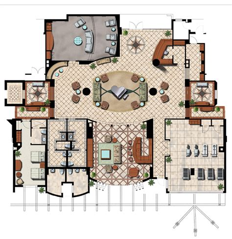 hand rendered floor plan floor plans elevations genesis studios inc