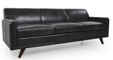 milo charcoal leather sofa 36103b s1171 moroni