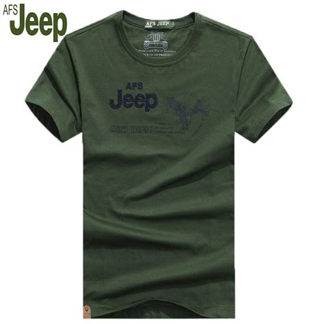 T Shirt Jeep 02 2016 summer new afs jeep s casual sleeved t