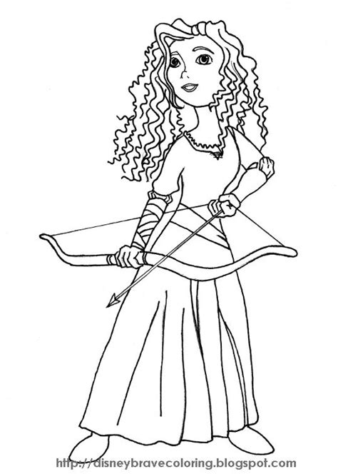 367 Best Pencil Images To Color Images On Pinterest Disney Princess Coloring Pages Brave