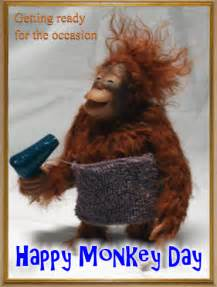 monkey day cards free monkey day ecards greeting cards 123 greetings