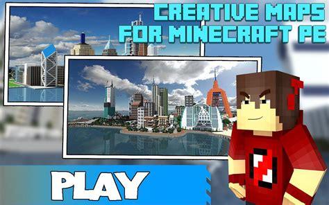 maps for minecraft pe creative apk free tools