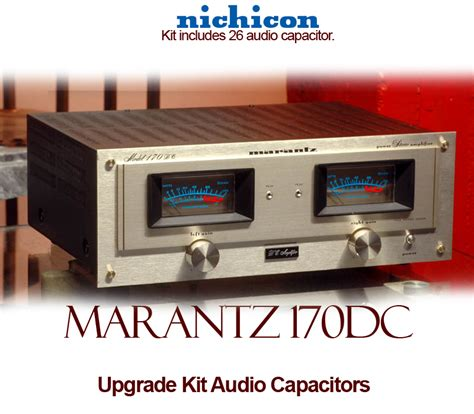 capacitor audio marantz 170dc upgrade kit audio capacitors