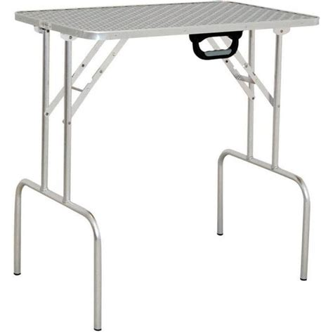 lightweight ringside grooming tables groomers lightweight aluminium portable grooming table