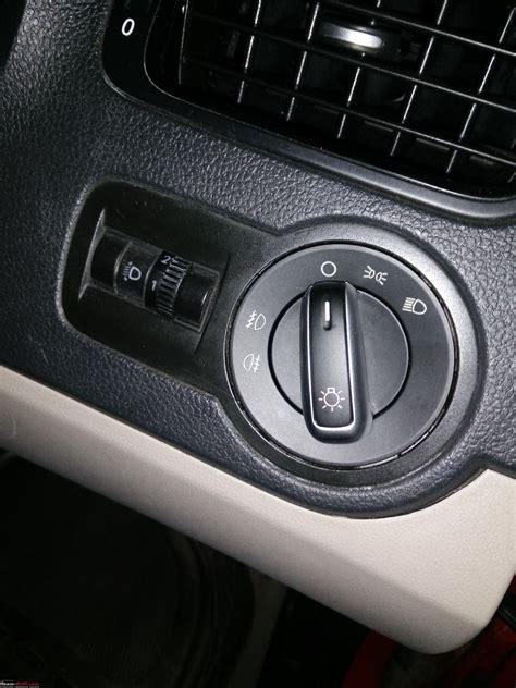vw polo diy upgrading cabin light headlight switch