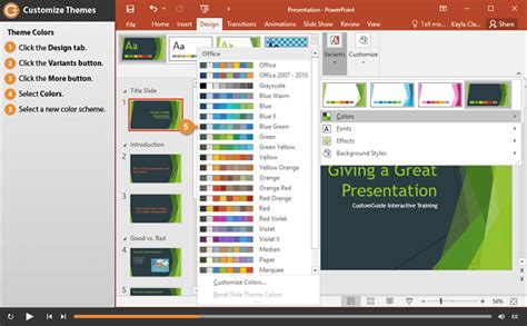 customize themes in ppt powerpoint custom themes tolg jcmanagement co