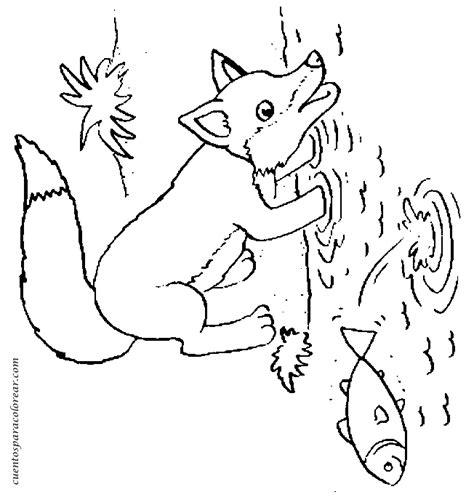 imagenes infantiles de zorros dibujos para colorear zorros