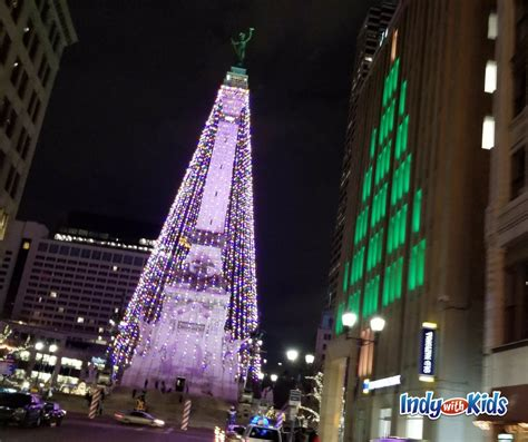 indianapolis monument circle christmas tree 8 things to do with at monument circle during the holidays