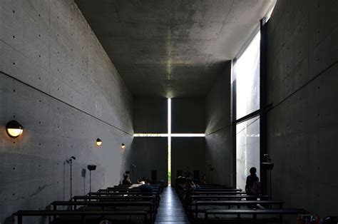 houses of light church spotlight tadao ando archdaily