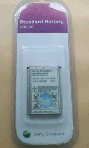 Baterai Vizz Sony Ericsson Bst 38 Bst38 Bst 38 1800mah For W580 Dan K8 zona accessories