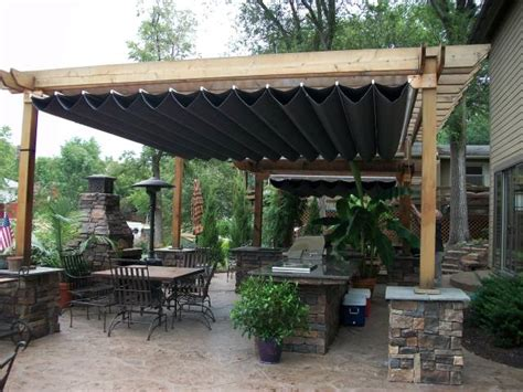 retractable patio cover canopies retractable pergola canopy