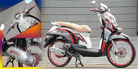 Honda Scoopy Sporty Stylish Ori Wheel Sticker Stiker Velg modifikasi motor honda scoopy beautiful only modest