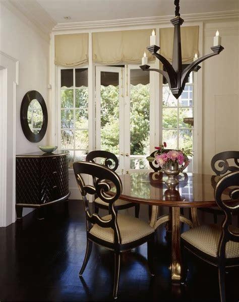 classic  elegant small dining room