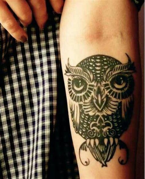 black owl tattoo east atlanta black white owl tattoo on arm dope shit pinterest