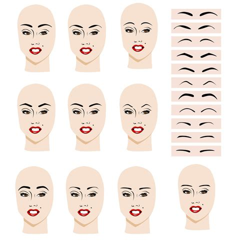 find the best eyebrow shape for your face shape magazine find the best eyebrow shape for your face beautiful shoes