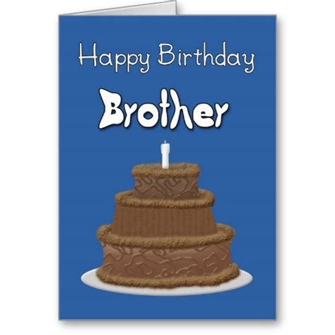 happy birthday brother cards printable happy birthday wishes on card page 7