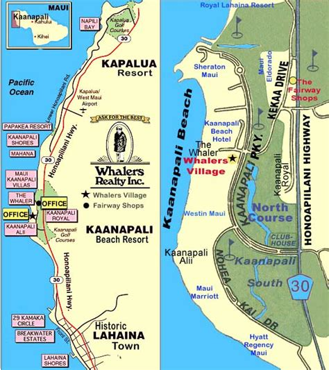 kaanapali resort map kaanapali map jorgeroblesforcongress