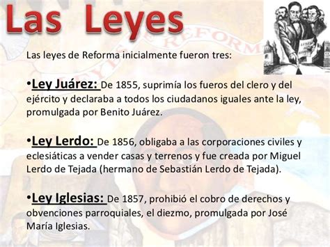 las leyes de la 8490326398 las leyes de reforma