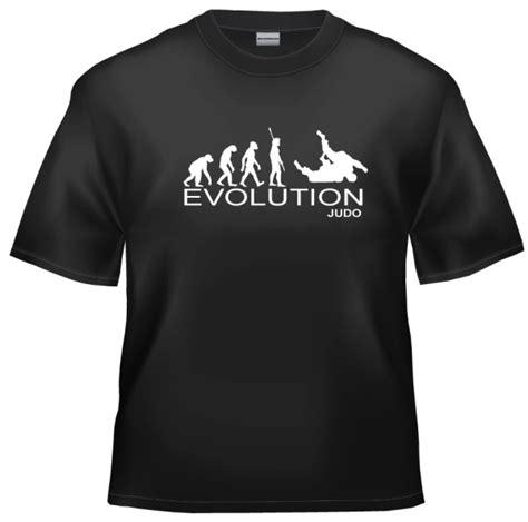 Tshirt Evolution Judo evolution judo t shirt