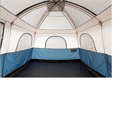 10 room tent large outdoor family tent cing 10 person 2 room cabin canvas trail c ebay