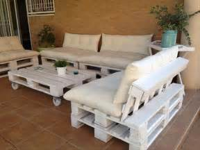 Pallet Patio Furniture Ideas Pallet Outdoor Furniture Plans Recycled Things