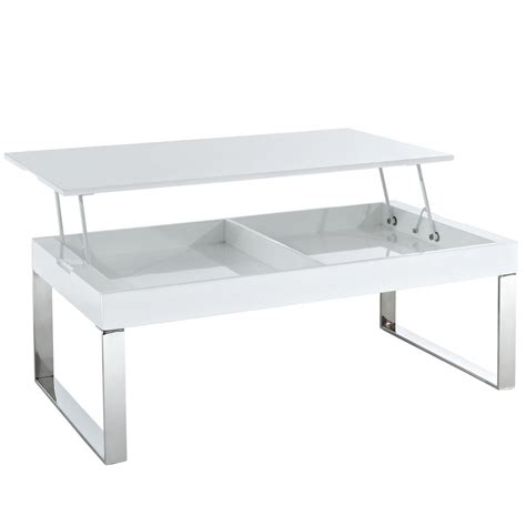 White Lift Top Coffee Table White Gloss Lift Coffee Table