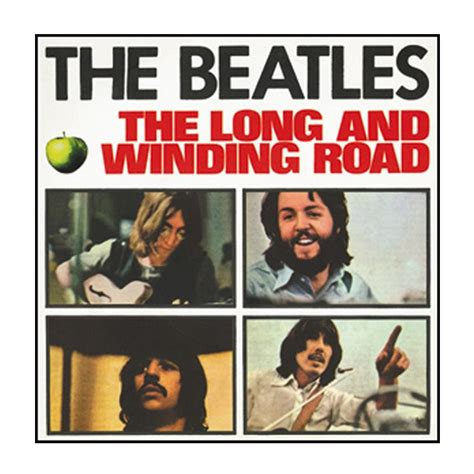 the beatles winding road button