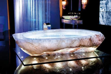 crystal bathtub rock crystal bath tub eclectic bathtubs other metro