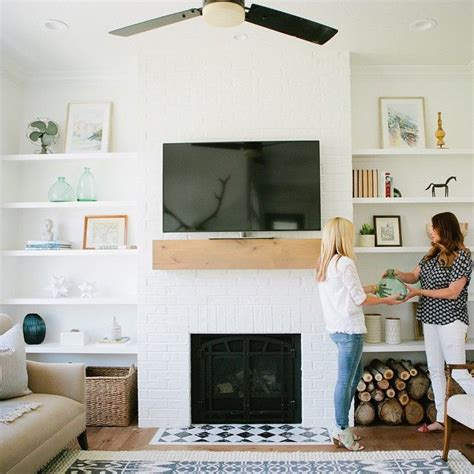 best 10 floating shelves by fireplace ideas on
