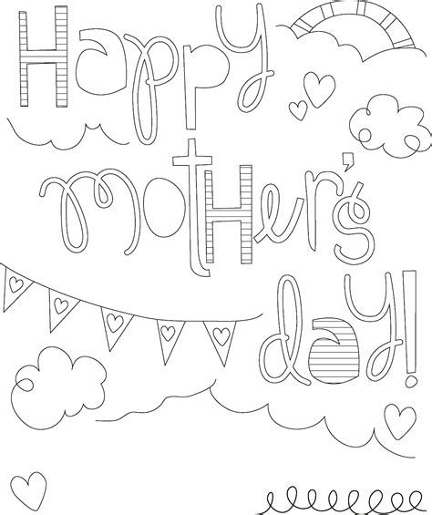 Printable Mothers Day Coloring Pages Coloring Me Coloring Pages Of Children S Day