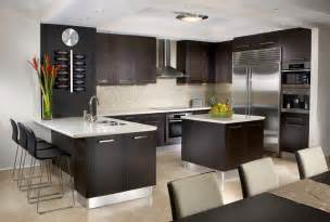 Modern Interior Kitchen Design by J Design Interior Designers Miami Bal Harbour