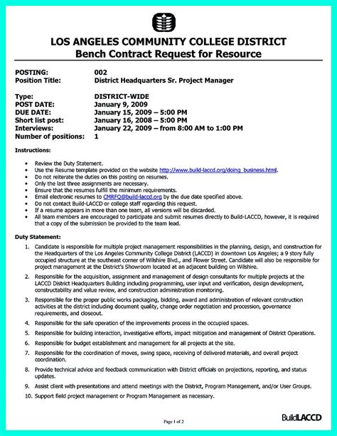 Construction Executive Resume Samples by Simple Construction Superintendent Resume Example To Get
