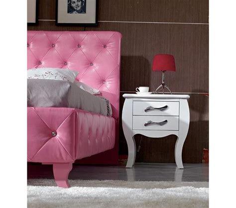 modern leatherette 5 piece bedroom set monte carlo white dreamfurniture com monte carlo pink leatherette modern