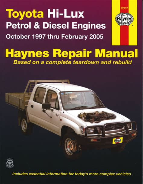 Toyota Diesel Engines Usa Toyota Hi Petrol Diesel Engines Oct 97 To Feb 05 Usa