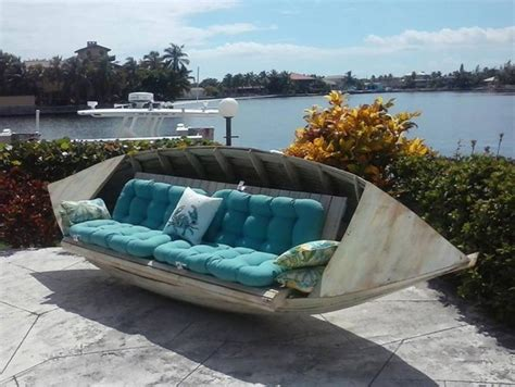 boat couch 20 of the best upcycled furniture ideas kitchen fun