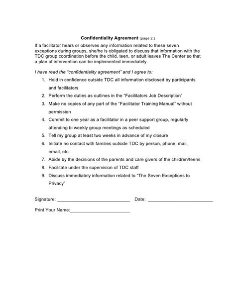 202 A Hoff Handout Workshop Facilitator Contract Template