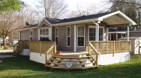 31 astonishing mobile home landscaping ideas